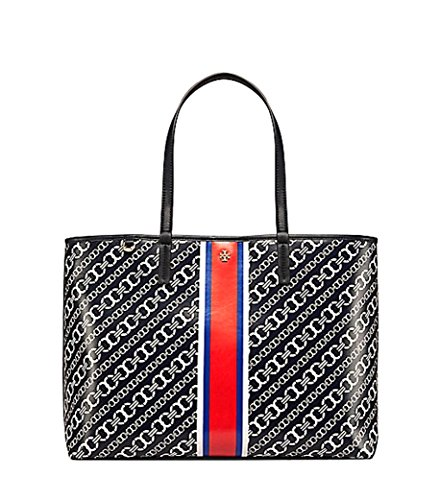 Tory Burch Gemini Link Tote Shoulder Bag, Port Royal (Navy) by Tory Burch