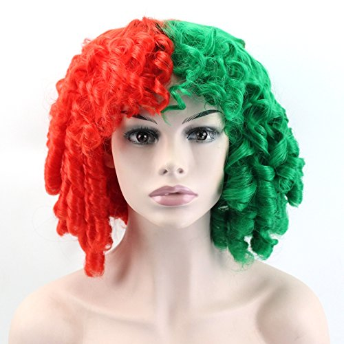 Wiged The New Princess Christmas Red Wig Wig Wig Roll Was 30