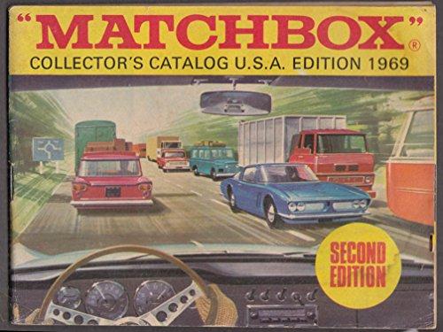 Matchbox Collectors Catalog - Matchbox Collector's Catalog USA edition 1969 2nd edition
