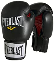 Everlast Erwachsene Boxhandschuhe Moulded Foam Training Glove, Black, 12, 6000