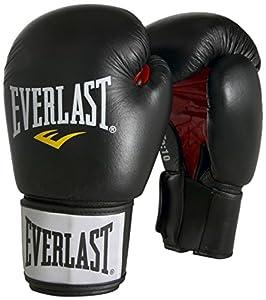 Everlast Erwachsene Boxhandschuhe Moulded Foam Training Glove, Schwarz, 10, 6000