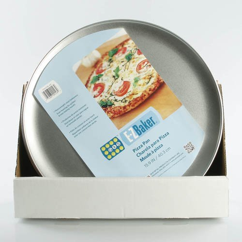 "EZ Baker 46TH Pizza Pan 16"", Gray"