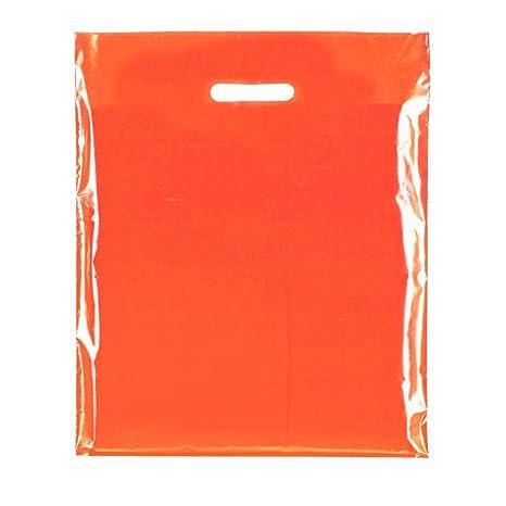 400 x naranja rojizo (45 micras) colores de plástico de alta ...