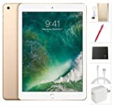 Apple iPad Wifi ​​​2017 model ​- 9.7 inch​​ - 32GB​,​ Gold + ​USA Warehouses Accessories Bundle MPGT2LL/A