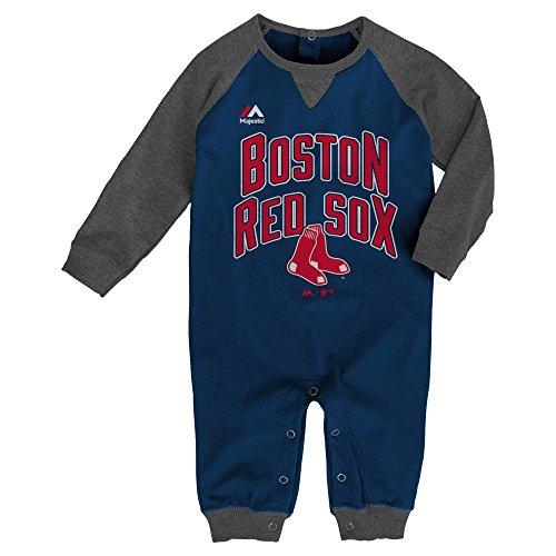 Boston Red Sox Fan Long Sleeve Romper