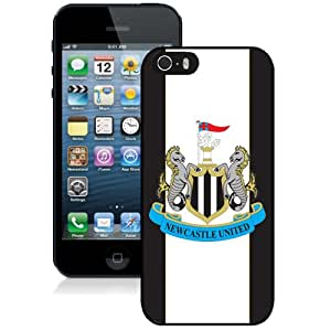 Unique DIY Designed Case For iPhone 5S With Soccer Club New Castle United 14 Football Logo Cell Phone Case