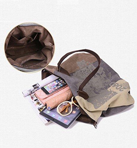 YUYO - Bolsa de playa  Mujer marrón