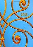 Kalender 2013 Golden Ornament: DIN A5, 1 Woche auf einer Doppelseite (German Edition)