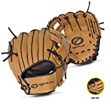 Optimum Extreme Child's Baseball Glove, Brown
