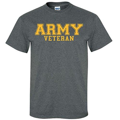 ARMY Veteran GOLD Logo Short Sleeve T-Shirt