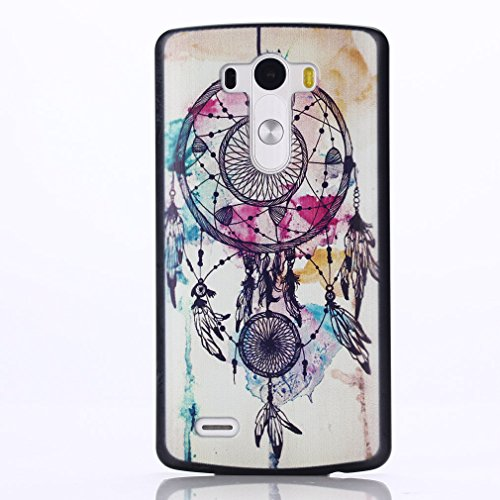 For LG G3 , TUTUWEN Beautiful Dream Catcher Design [Hard] Skin Case Protective Back Cover for Specially for LG G3
