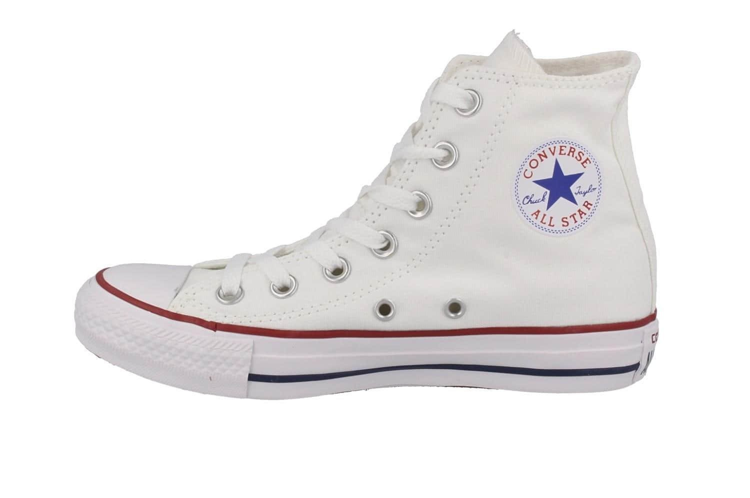 Converse Unisex Chuck Taylor All Star Hi Oxfords Optical White 6.5 D(M) US by Converse (Image #9)