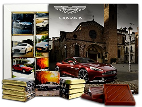 DA CHOCOLATE Candy Souvenir ASTON MARTIN Chocolate Gift Set 5x5in 1 box (Street)