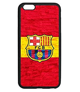 Case Cover For Friends Iphone 6 6s Plus 5.5 Inch Case Football Logo Fc Barcelona Popular Sports Football Image Plastic Hard Cover Skin