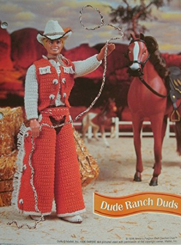 Barbie (Ken) or Fashion Doll Cowboy Outfit