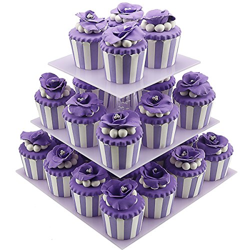 Review Cupcake Holder,3 Tiered Birthday