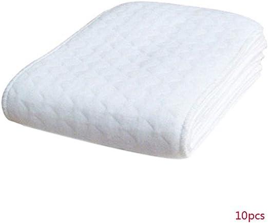 YILONG 10pcs Reutilizable bebé pañales de algodón del pañal ...