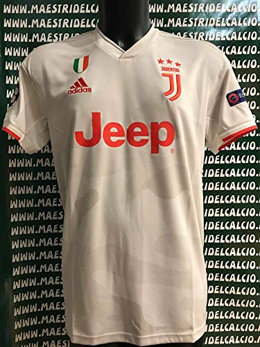 Juventus Juve 2019/2020 MAESTRI DEL CALCIO Maglia Gara Away ...