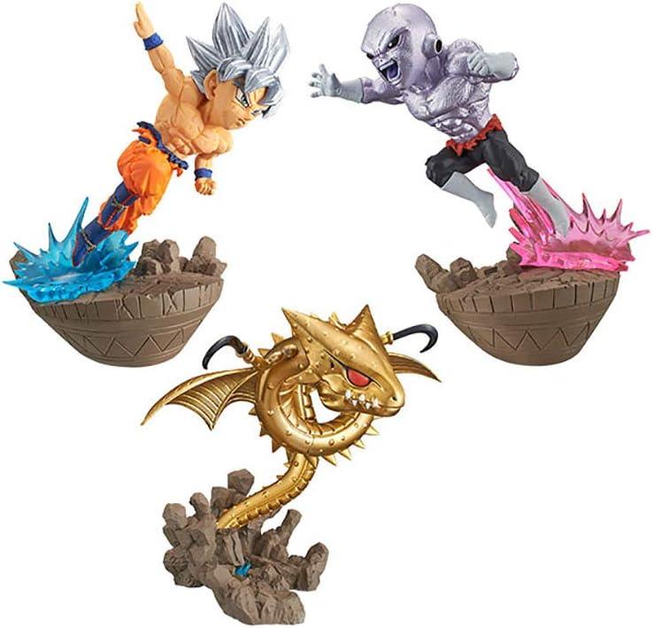 Banpresto Dragon Ball super WCF Diorama vol2 Goku Jiren Shenron figure 3set