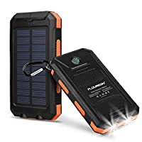 Solar Charger Power Bank 10,000mAh - FLO...