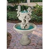 Design Toscano Cherubs at Play Sculptural Fountain
