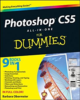 Photoshop CS5 All-in-One For Dummies by [Obermeier, Barbara]