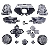xbox one custom controller light - ModFreakz™ Full Button Set Thumbsticks Clear For Xbox One Model 1537 Controllers