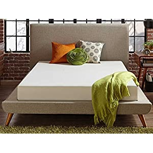 Live and Sleep - Resort Classic New 8-Inch Twin Size Cooling Medium Firm Memory Foam Mattress and Shredded Form Pillow, Low VOC Certi-PUR Certified