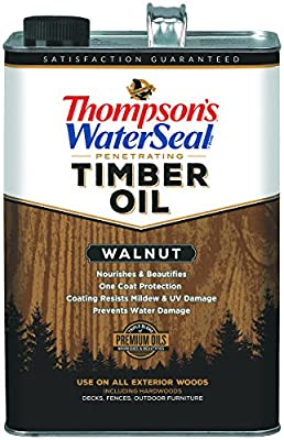 Thompsons Waterseal Penetrating Timebr Oil, Walnut
