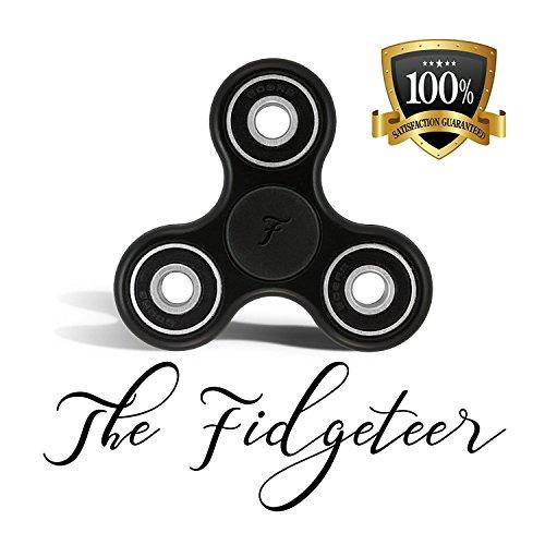Fidgeteer Fidget Spinner EDC Black