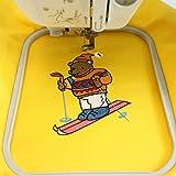 New brothread Cut Away Machine Embroidery