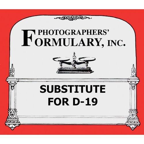 写真家' Formularyための代替d-19ブラック&ホワイトFilm開発者、Makes 1 Galソリューション   B071HNS5FB