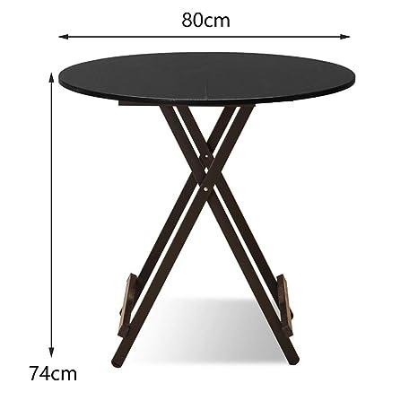 ACZZ Mesa de madera plegable Cocina Catering y mesa de café ...
