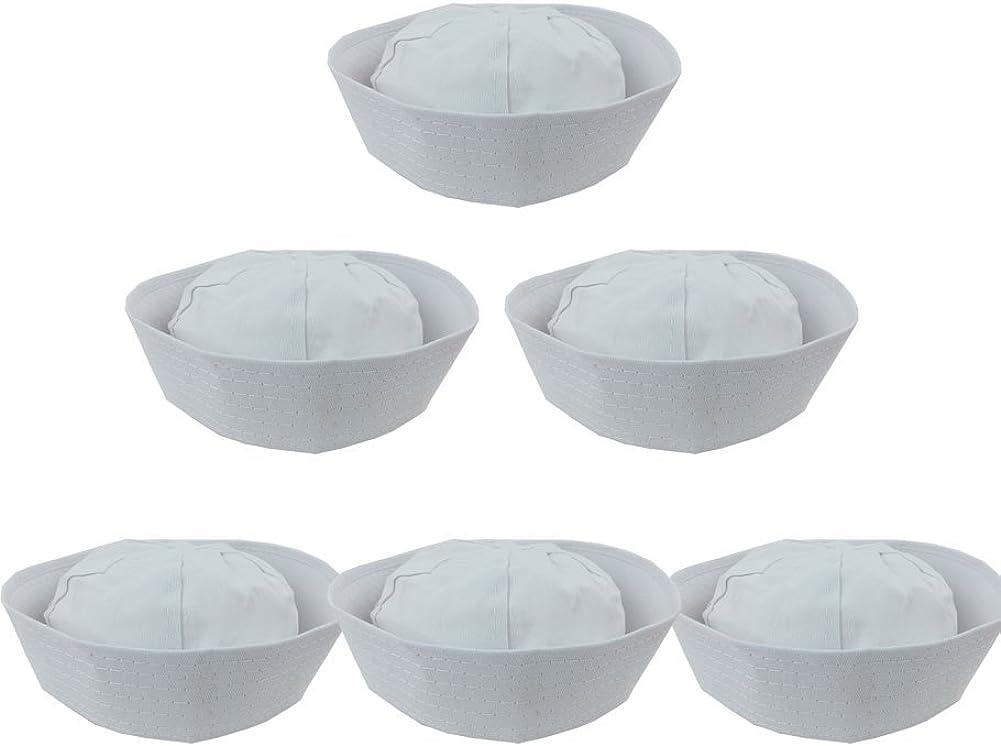 Funny Party Hats White Sailor Hats - Nautical Hats - Sailor Cap - Gob Hat - Yacht Hat - Sailor Costume