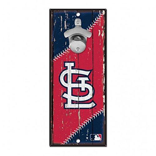 - St. Louis Cardinals MLB Bottle Opener Sign 5