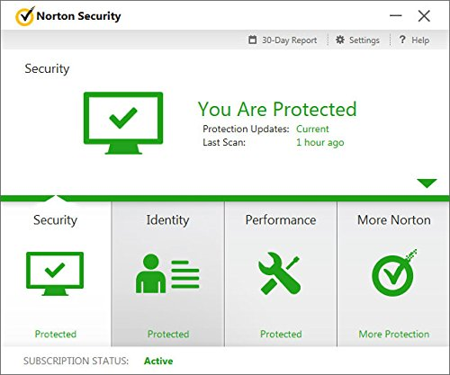 Norton Security Deluxe - Antivirus software for 5 Devices with