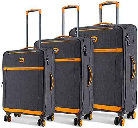 8e6d85796c3a Shopping 3 Stars & Up - Oranges or Silvers - Luggage & Travel Gear ...