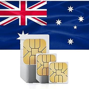 Tarjeta SIM Prepago de Australia + datos 750MB para 30 DÍAS: Amazon.es: Electrónica