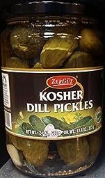 ZerGut Kosher Dill Pickles 24 Oz (Pack of 3)