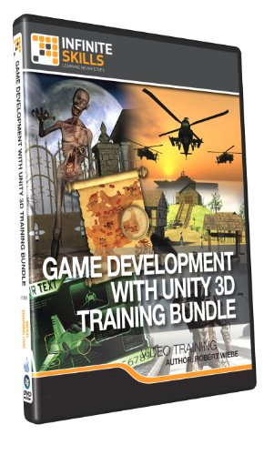 Learning Game Development With Unity 3D Training Bundle - Training DVD by Infiniteskills
