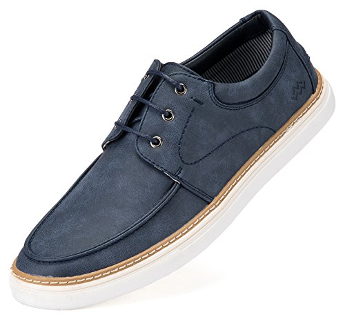 Mio Marino Mens Boat Shoes - Comfortable Fashion Sneakers