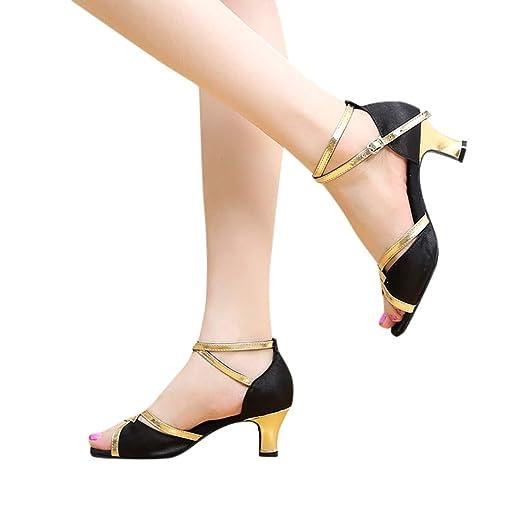 f1c70bb9ae595 Gyouanime Sandals Shoes Women Dance Dress Shoes Graduation Ceremony Pumps  Sandals Ankle Buckle Shoes Black
