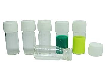 b026fd05772f Lot Of 50 x 3 ml Empty Boston Round Glass Vial Refillable Essential ...