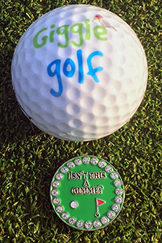 Giggle Golf Bling Putting Ball Marker Pack by Giggle Golf (Image #1)