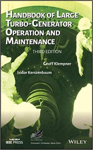 Handbook of Large Turbo-Generator Operation and Maintenance IEEE Press Series on Power Engineering: Amazon.es: Geoff Klempner: Libros en idiomas extranjeros
