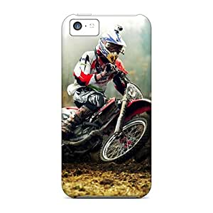 Case Cover Motocross Rider Sport/ Fashionable Case For Iphone 5c