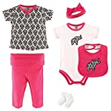 Best Yoga Sprout Baby Socks - Yoga Sprout 6 Piece Layette Set, Damask Collection Review