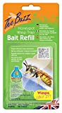 The Buzz Honeypot Wasp Trap Bait Refill (Super Effective Insect Attractant, Covers up to 10 m Radius) - 3 Refill Packs (4 g Each)