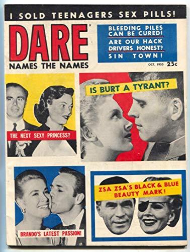 Dare Magazine October 1955- Sold Teenagers Sex Pills (Best Dares For Teens)