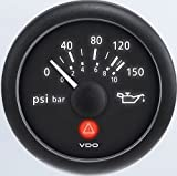 VDO A2C53413157-K1 Oil Pressure Gauge and Sender Kit